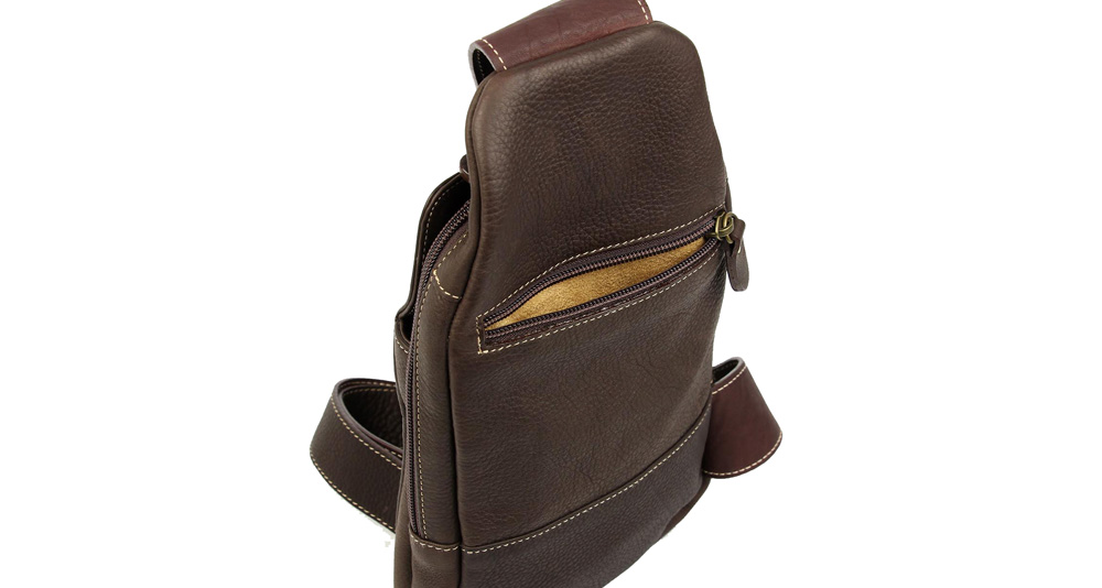 cross-body bag brown