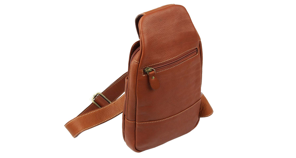 cross-body bag terracotta